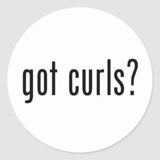 Got Curls Stickers