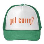 got curry? hats