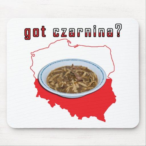 Got Czarnina Polish Map Mouse Pad