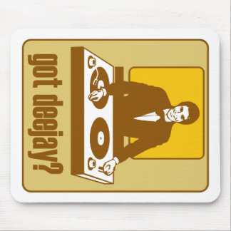 GOT DEEJAY RETRO DJ MOUSE PADS