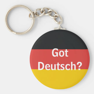 Got Deutsch? Key Ring