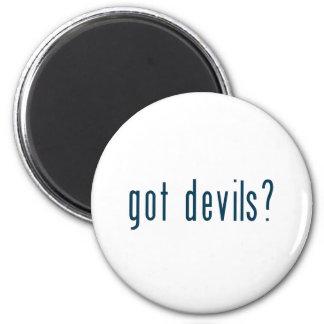 got devils 6 cm round magnet