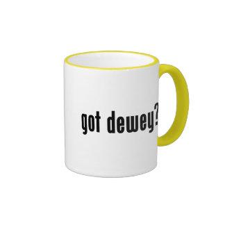 got dewey? ringer mug