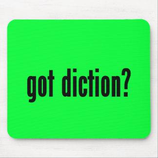 got diction mousepad