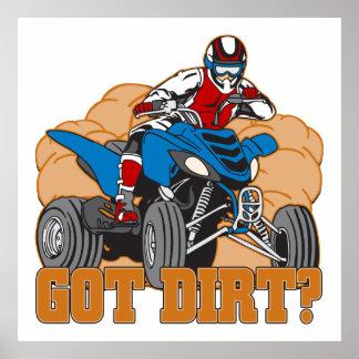 Got Dirt ATV Poster