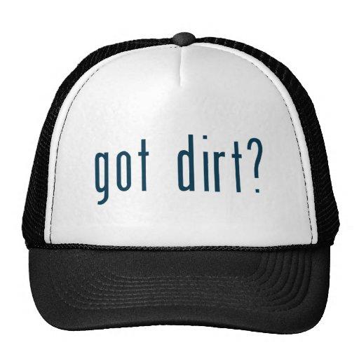 got dirt trucker hats