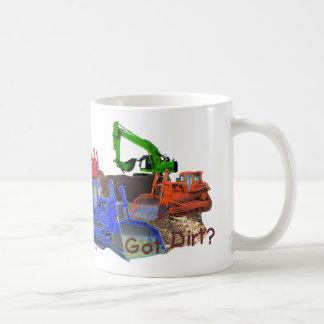 Got dirt? basic white mug