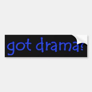 got drama? Bumper Sticker
