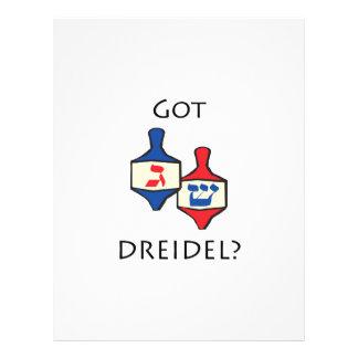 Got Dreidel Flyers