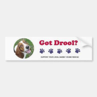 Got Drool Bumper Sticker