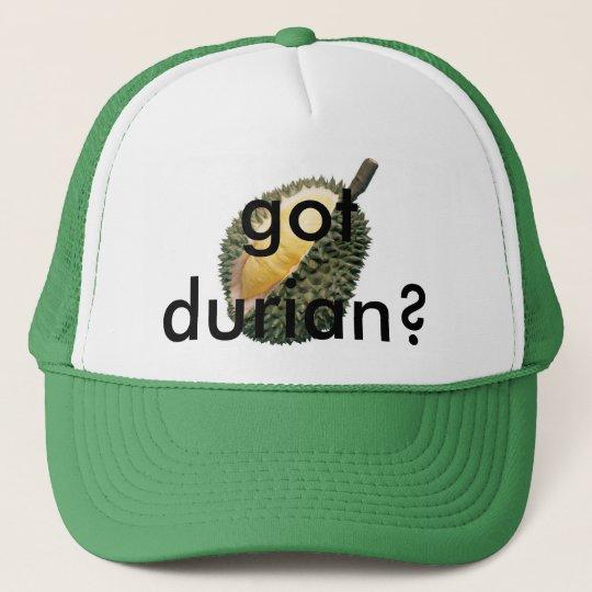 got durian? cap