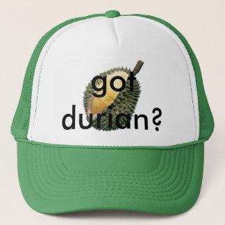 got durian? trucker hat