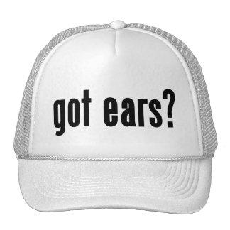 got ears? trucker hats