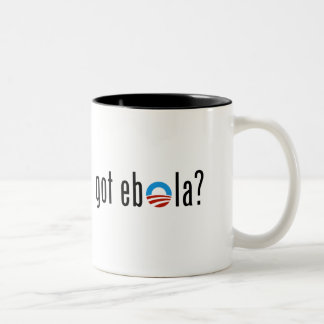 Got Ebola Two-Tone Coffee Mug
