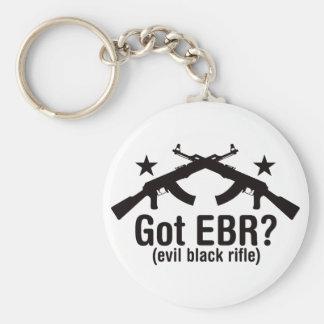 Got EBR? AK47 Basic Round Button Key Ring
