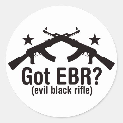 Got EBR? AK47 Round Stickers