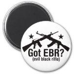 Got EBR? AR15 and AK47 6 Cm Round Magnet