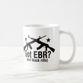 Got EBR? AR15 and AK47 Coffee Mug