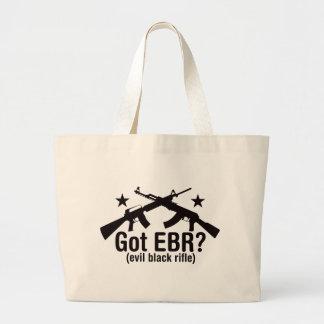 Got EBR? AR15 and AK47 Jumbo Tote Bag