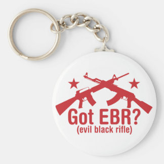 Got EBR? AR15 and AK47 Keychain