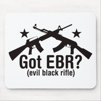 Got EBR? AR15 and AK47 Mouse Pads