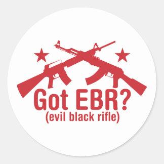 Got EBR? AR15 and AK47 Round Sticker
