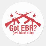 Got EBR? AR15 and AK47 Round Stickers