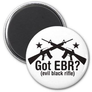 Got EBR? AR15 6 Cm Round Magnet