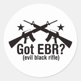 Got EBR? AR15 Round Sticker
