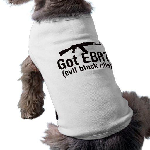 Got EBR? Basic AK47 Pet Shirt