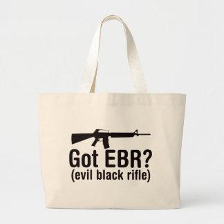 Got EBR? Basic AR15 Jumbo Tote Bag