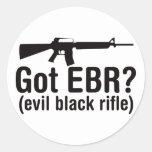 Got EBR? Basic AR15 Round Sticker