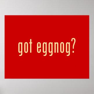 got eggnog? poster