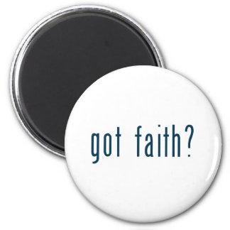 got faith 6 cm round magnet