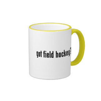 got field hockey? mugs