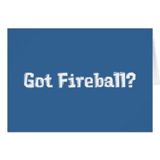 Got Fireball Gifts Greeting Card