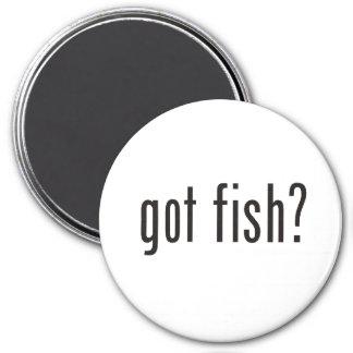 got fish? 7.5 cm round magnet