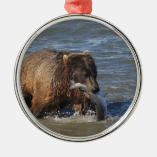 Got Fish? Alaska Brown Bear gifts Christmas Ornament
