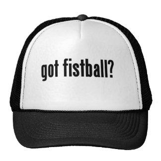 got fistball? mesh hat