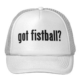 got fistball? mesh hats