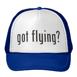 got flying? cap