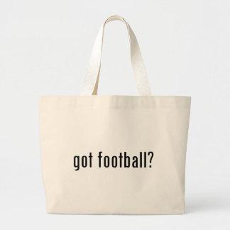 got football? jumbo tote bag