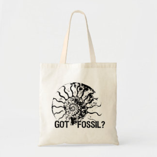 GOT FOSSIL? Ammonite Budget Tote Bag