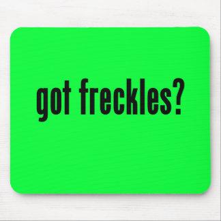 got freckles mousepad