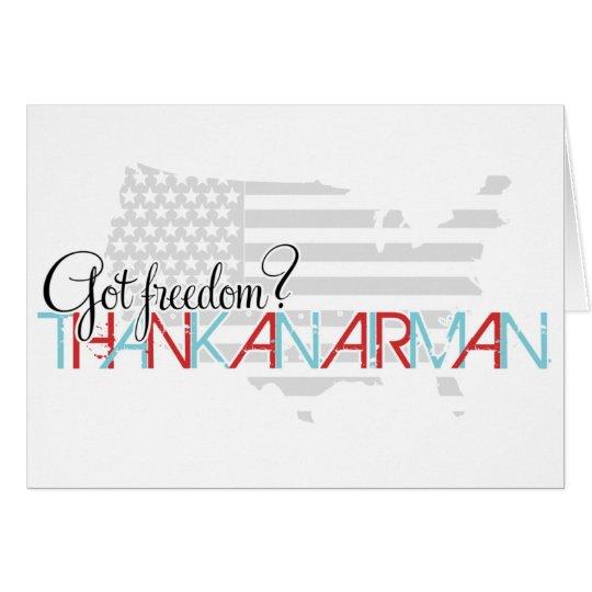 Got Freedom? Thank an Airman Card