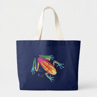 Got Frog? Large Tote Bag