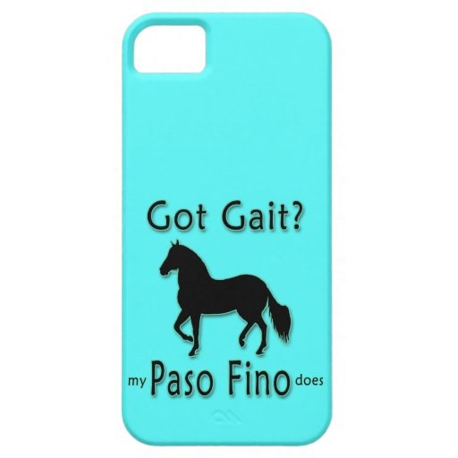 Got Gait? My Paso Fino Does iPhone 5/5S Cases