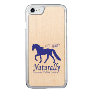 got gait? Naturally Tennessee Walking Horse Carved iPhone 8/7 Case