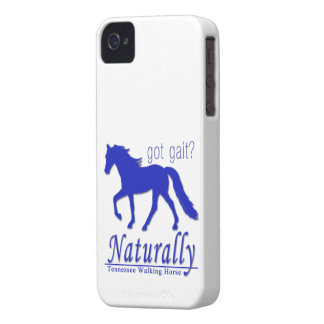got gait? Naturally Tennessee Walking Horse iPhone 4 Cover