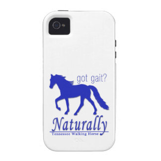got gait? Naturally Tennessee Walking Horse iPhone 4 Covers